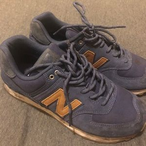new balance 574 tennis shoes
